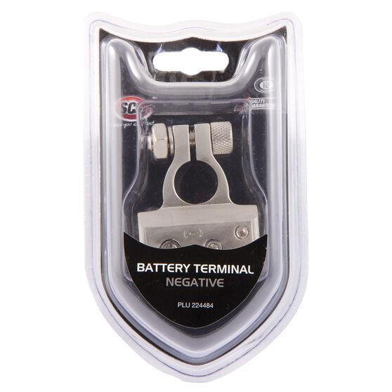 SCA Battery Terminal - Negative, , scaau_hi-res