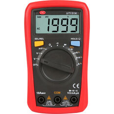 SCA Multimeter - Digital, Palm Size, , scaau_hi-res