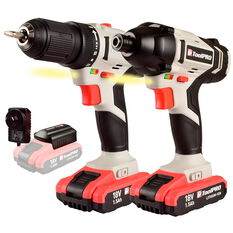 ToolPRO Drill and Impact Driver Kit 18V, , scaau_hi-res
