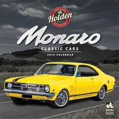 Holden Classics Monaro Square 2019 Calendar, , scaau_hi-res