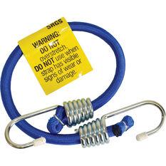 SCA Metal Hook Bungee Cord - 45cm, Blue, , scaau_hi-res