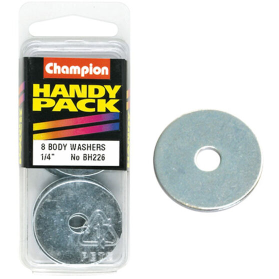 Champion Bo+418:547dy Washer - 1 / 4inch X 1-1 / 4inch, BH226, Handy Pack, , scaau_hi-res