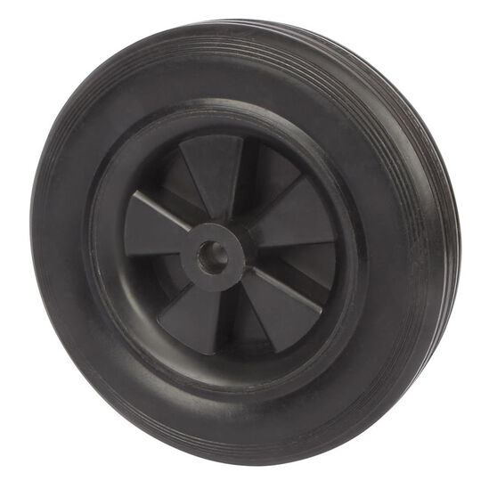SCA Wheel Plastic Rim - 120 x 30mm, Rubber, , scaau_hi-res