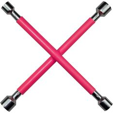 Wheel Brace, Rubber Grip, Pink, , scaau_hi-res