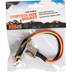 Ridge Ryder 4WD Winch Control Box Socket, , scaau_hi-res