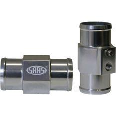 Water Temperature Gauge Adapter - Aluminium, 34mm, Radiator Hose, , scaau_hi-res