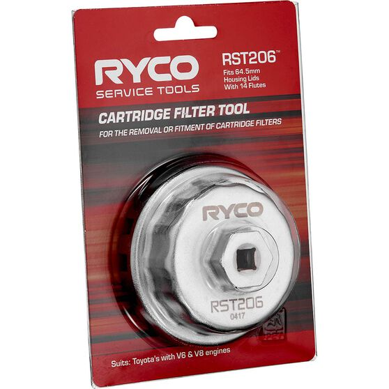 Ryco Oil Filter Cup Wrench - RST206, , scaau_hi-res
