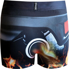 Tradie Quick Dry Trunks - Exhaust S, Exhaust, scaau_hi-res