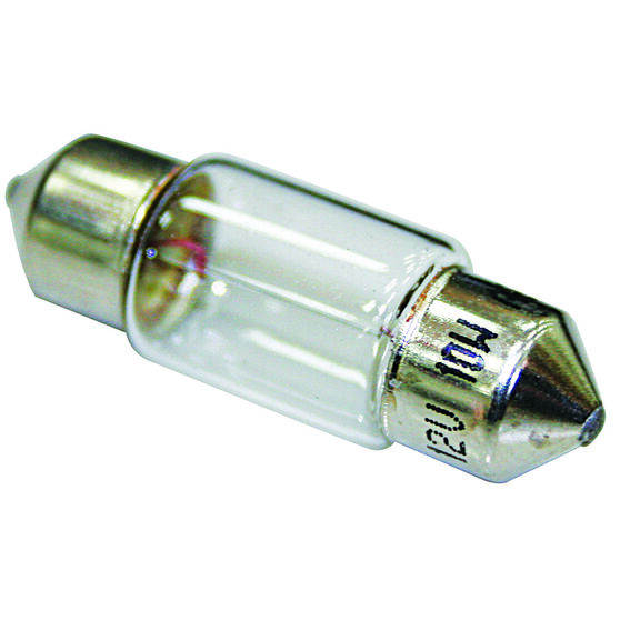 SCA Festoon Bulb - 12V, 10W, 10 x 31mm, , scaau_hi-res