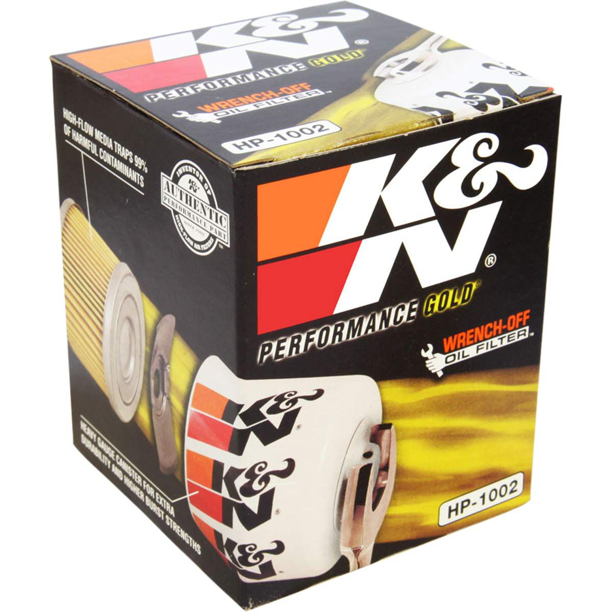 K/&N HP-1002 Performance Wrench-Off Oil Filter