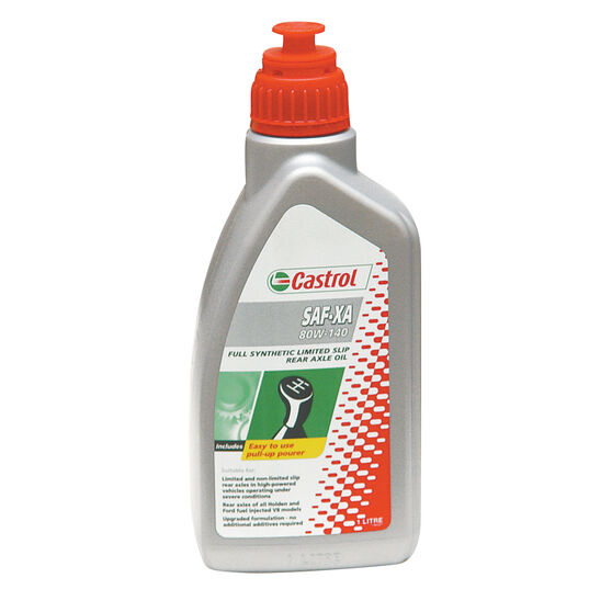 Castrol Syntrax Limited Slip Rear Axle Oil 80W-140 1 Litre, , scaau_hi-res