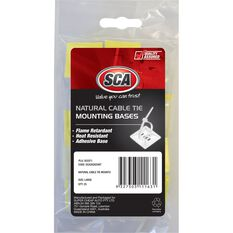 SCA Cable Tie Mounts - Large, 25 Pack, , scaau_hi-res