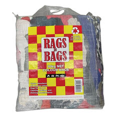 Rags In Bags Coloured Cleaning Cloth 10kg, , scaau_hi-res