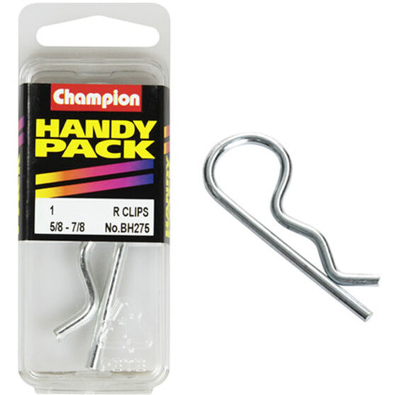 Champion R Clips - 5 / 8-7 / 8inch, BH275, Handy Pack, , scaau_hi-res