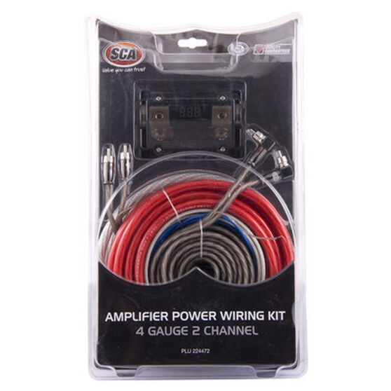 SCA 2 Channel Amplifier Wiring Kit, 4G, , scaau_hi-res