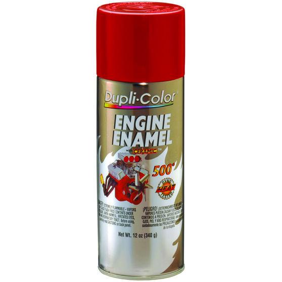 Dupli-Color Engine Enamel Aerosol Paint Ford Red 340g, , scaau_hi-res