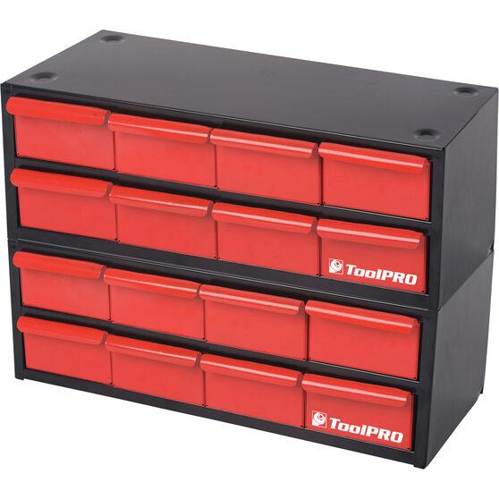 ToolPRO Organiser Stackable 8 Drawer, , scaau_hi-res