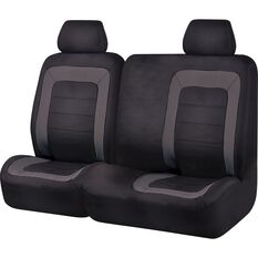 SCA Oxford Ute Seat Covers - Black, Size 301, Front Bucket and Bench (w/out cut out), , scaau_hi-res