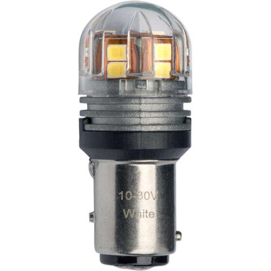 JW Speaker LED Globe - Bayonet, 12V, 6200K, BAY15d, , scaau_hi-res