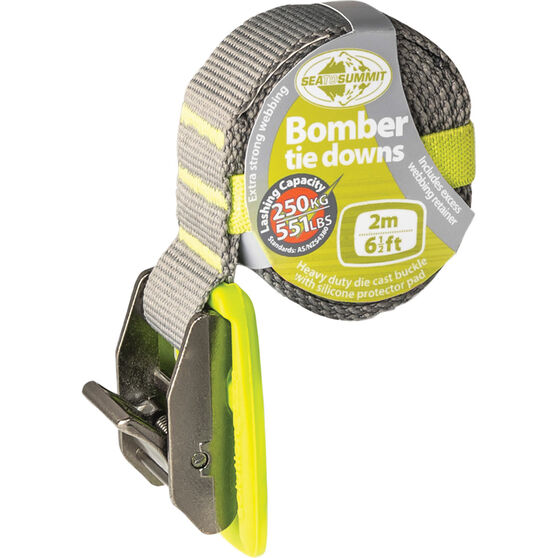 Sea to Summit Bomber Tie Down Lime 2m, , scaau_hi-res