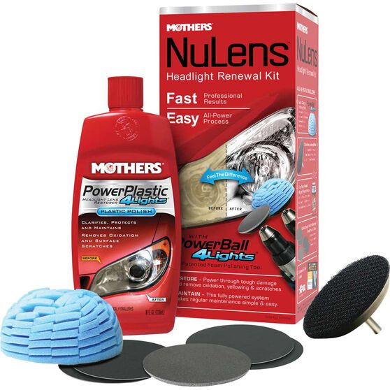 Mothers NuLens Renewal Headlight Kit, , scaau_hi-res