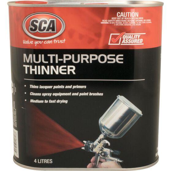 SCA Multi-Purpose Thinner - 4 Litre, , scaau_hi-res