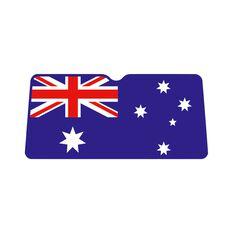 Aussie Flag Sunshade - Blue, Accordion, Front, , scaau_hi-res
