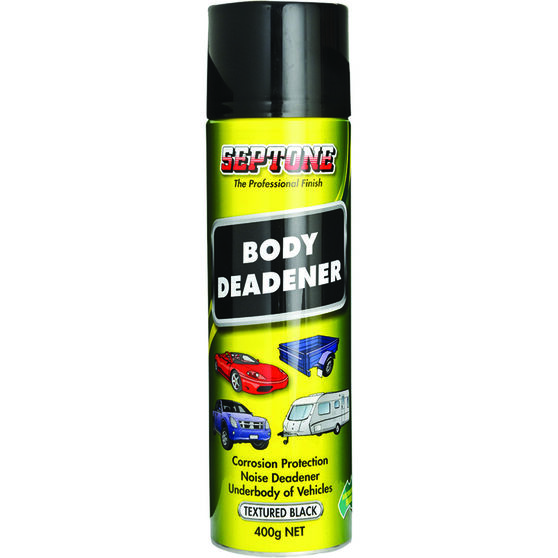 Septone Body Deadener Aerosol Paint - Black, 400g, , scaau_hi-res