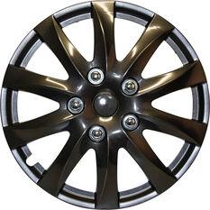 """SCA Wheel Covers - Titanium Gunmetal 15"""" Set of 4, , scaau_hi-res"""
