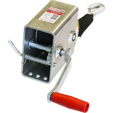 Winch With Webbing - 5:1, 700kg, , scaau_hi-res