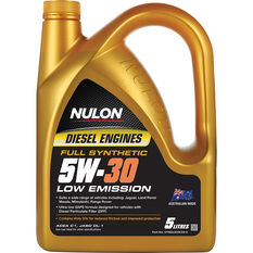 Nulon Full Synthetic Low Emission Diesel Engine Oil 5W-30 5 Litre, , scaau_hi-res
