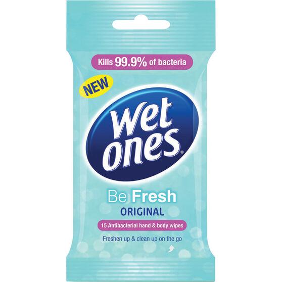 Original 15 Pack Wet Ones Wipes, , scaau_hi-res