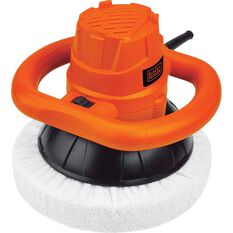 Black & Decker Orbital Car Polisher -  230mm, 120 Watt, , scaau_hi-res