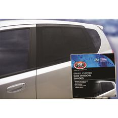 SCA Window Shade - Side, Small Curved, Black, Pair, , scaau_hi-res