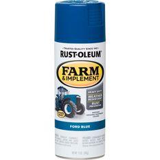 Rustoleum Aerosol Paint - Specialty Farm and Implement Enamel, Ford Blue, , scaau_hi-res