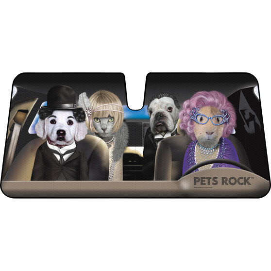 Pets Rock Sunshade - Fasion, Accordion, Front, , scaau_hi-res