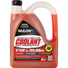 Nulon Red Long Life Anti-Freeze / Anti-Boil Concentrate Coolant - 5 Litre, , scaau_hi-res