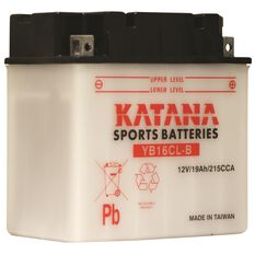Katana Powersports Battery YB16CL-B, , scaau_hi-res