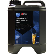SCA Semi-Synthetic Diesel Engine Oil 5W-40 10 Litre, , scaau_hi-res