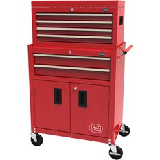 SCA Tool Cabinet - 6 Drawer, Combo - 27 inch, , scaau_hi-res