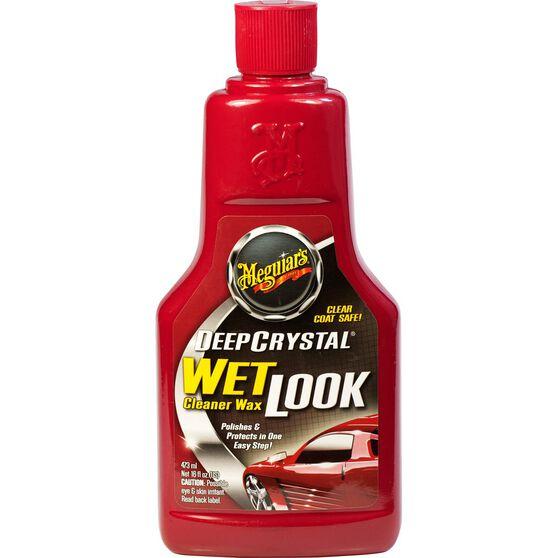 Meguiar's Wet Look Liquid Cleaner Wax 473mL, , scaau_hi-res