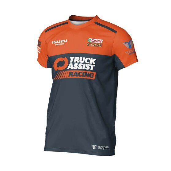 Truck Assist Racing Team Men's 2020 Team T-Shirt, Charcoal, scaau_hi-res