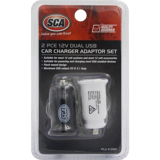 USB Adaptor SCA - 12V, 5V, 3.1A, , scaau_hi-res