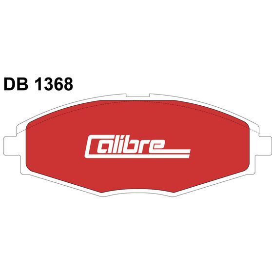 Calibre Disc Brake Pads DB1368CAL, , scaau_hi-res