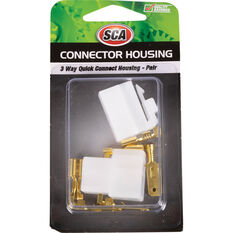 Quick Connect Housing - 3 Way, 20 Amp, , scaau_hi-res
