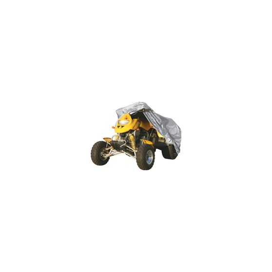 CoverALL ATV Cover Silver Protection - Water Resistant, Suits Medium ATV, , scaau_hi-res