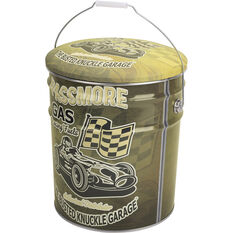 Tin Storage Stool - Racecar, Busted Knuckle, , scaau_hi-res