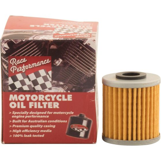 Race Performance Motorcycle Oil Filter - RP113, , scaau_hi-res