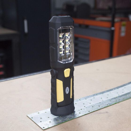 SCA Worklight - 8 SMD + 1 LED, 3AA Battery, , scaau_hi-res