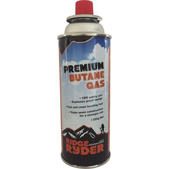 Ridge Ryder Butane Gas - 220g, 4 Pack, , scaau_hi-res